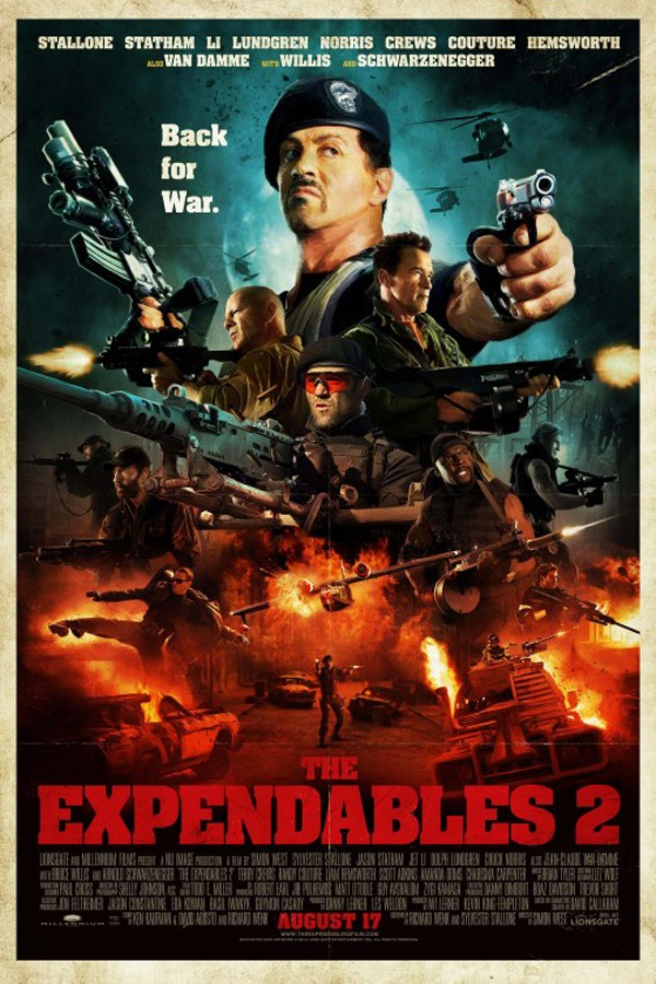Expendables 2 2012 FRENCH HDTS LD [MULTI]