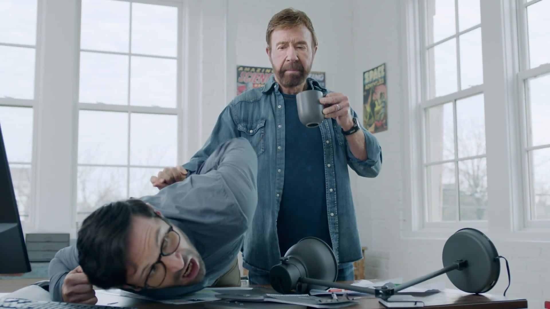 Le jeu Chuck Norris est disponible sur iPhone