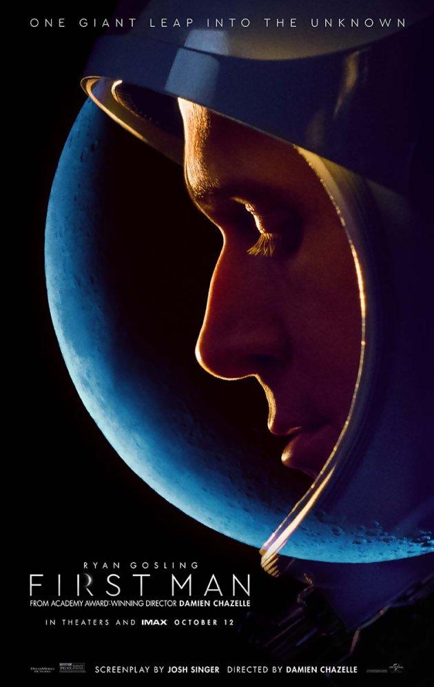 ryan gosling sur la lune pour first man bande annonce et premi res critiques. Black Bedroom Furniture Sets. Home Design Ideas