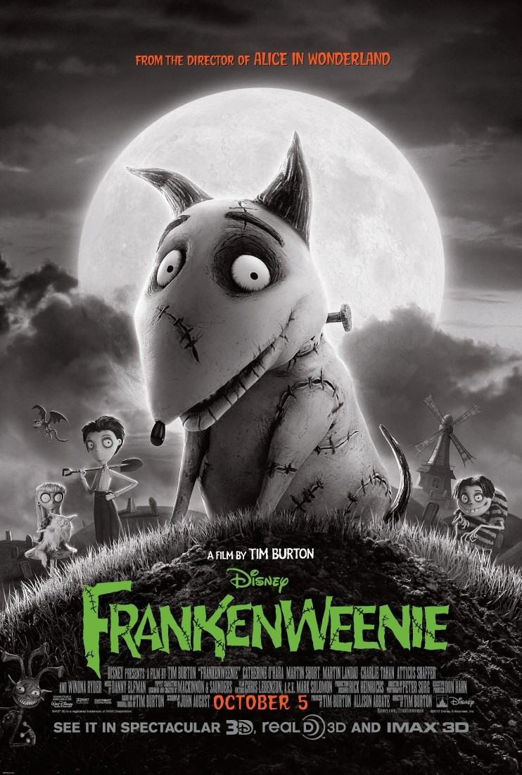 Frankenweenie (2012) [FRENCH] [DVDRiP 1CD]