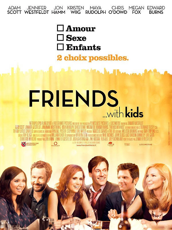 Friends With Kids  | DVDRip |TRUEFRENCH 1CD