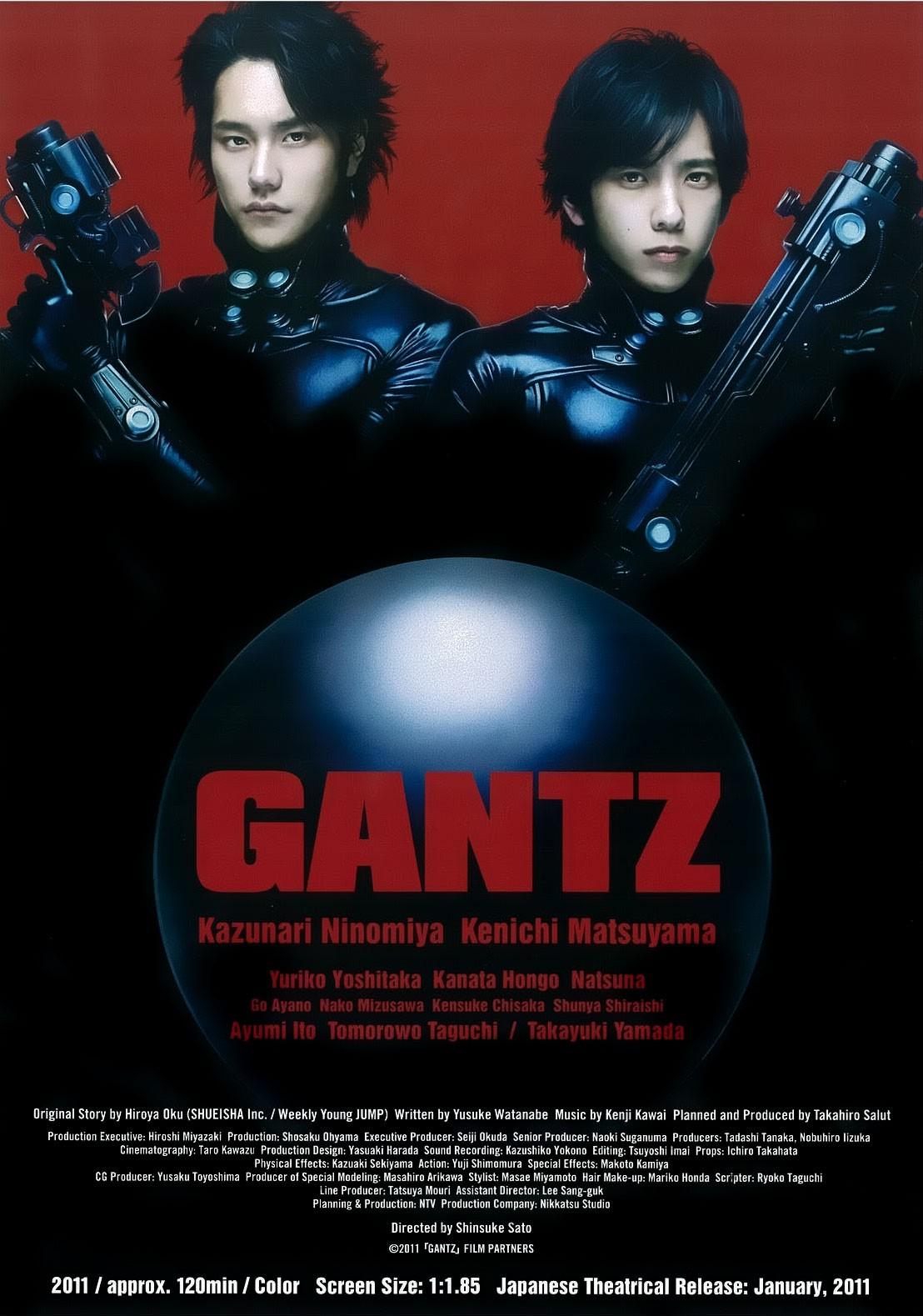 [MULTI] Gantz 1 et 2 [DVDRiP - BRRiP] [MP4]