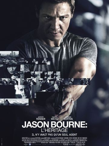 Jason Bourne 4 : L'héritage | Multi | Blu-Ray 1080p