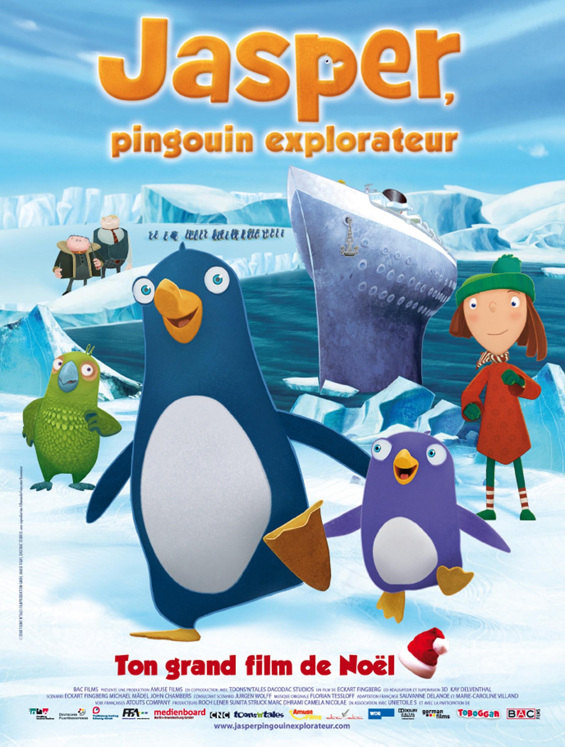 Jasper pingouin explorateur - Jasper le pingouin ...
