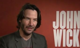 Keanu Reeves nous parle de John Wick 2, de Matrix et de John Wick 3 !
