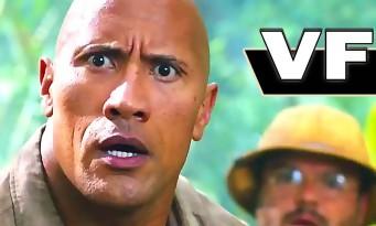 JUMANJI 2017 : la bande-annonce du remake avec Dwayne Johnson et Jack Black