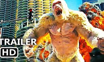 RАMPAGE : Dwayne Johnson combat Negan et des monstres géants ! (bande-annonce)