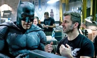 Zack Snyder n'a pas encore vu JUSTICE LEAGUE !