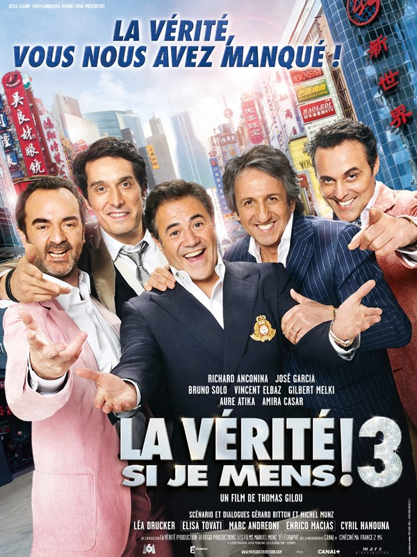La Verite Si Je Mens 3 2011 FRENCH DVDRiP [1CD][2CD] (exclue) [MULTI]