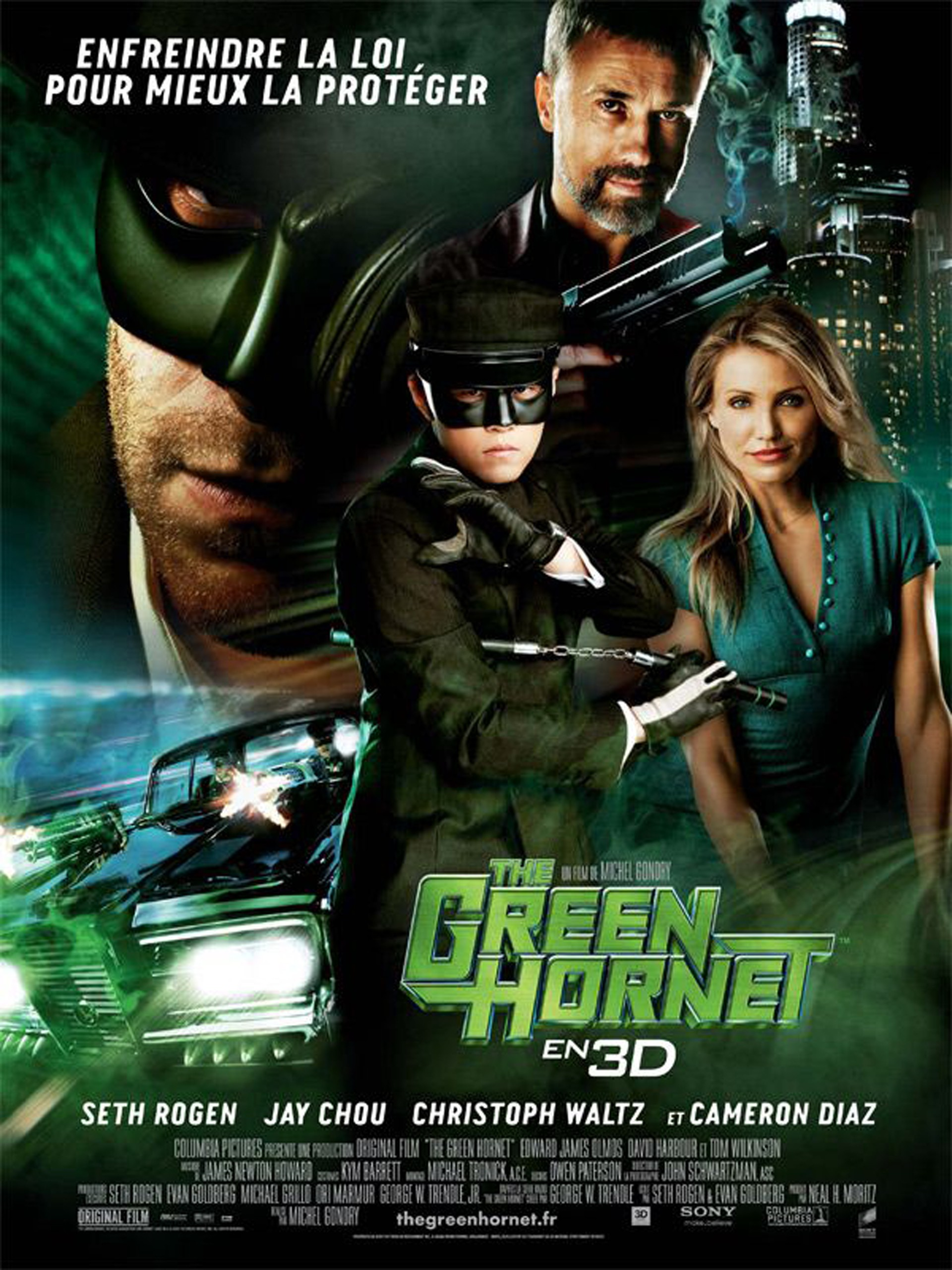 The Green Hornet [TRUEFRENCH|BluRay 1080p|3D]