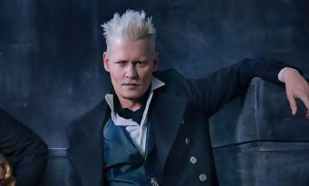 Johnny Depp sur le point d'être viré des Animaux Fantastiques 3 par Warner Bros ?