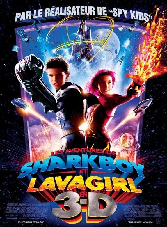 Les Aventures de Shark Boy et Lava Girl [DVDRiP l FRENCH][MULTI]