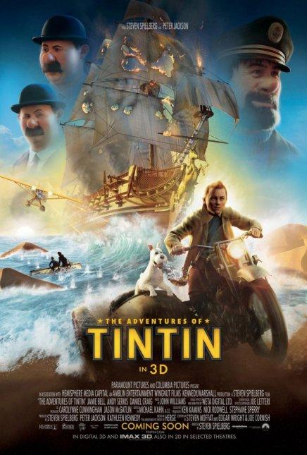 Tintin de Steven Spielberg : les photos