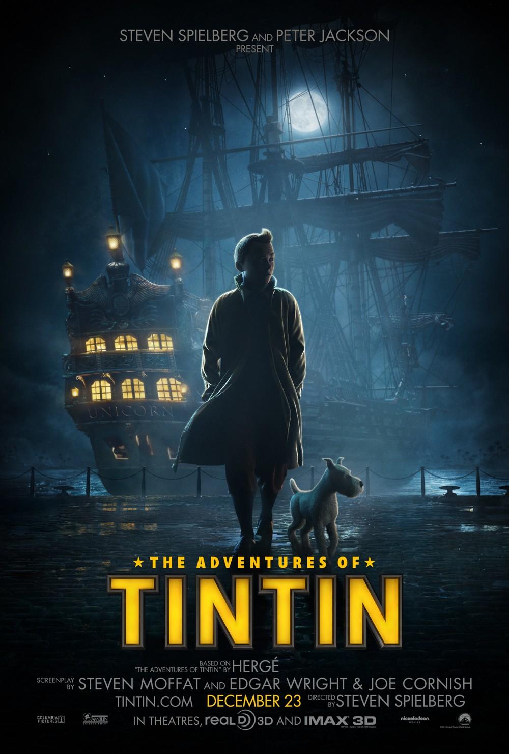 Tintin de Steven Spielberg (2011)