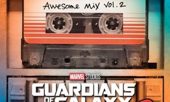 Les Gardiens de la Galaxie 2 : la bande originale en écoute !