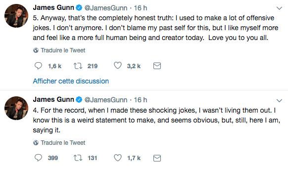 Disney se sépare du réalisateur James Gunn après des tweets
