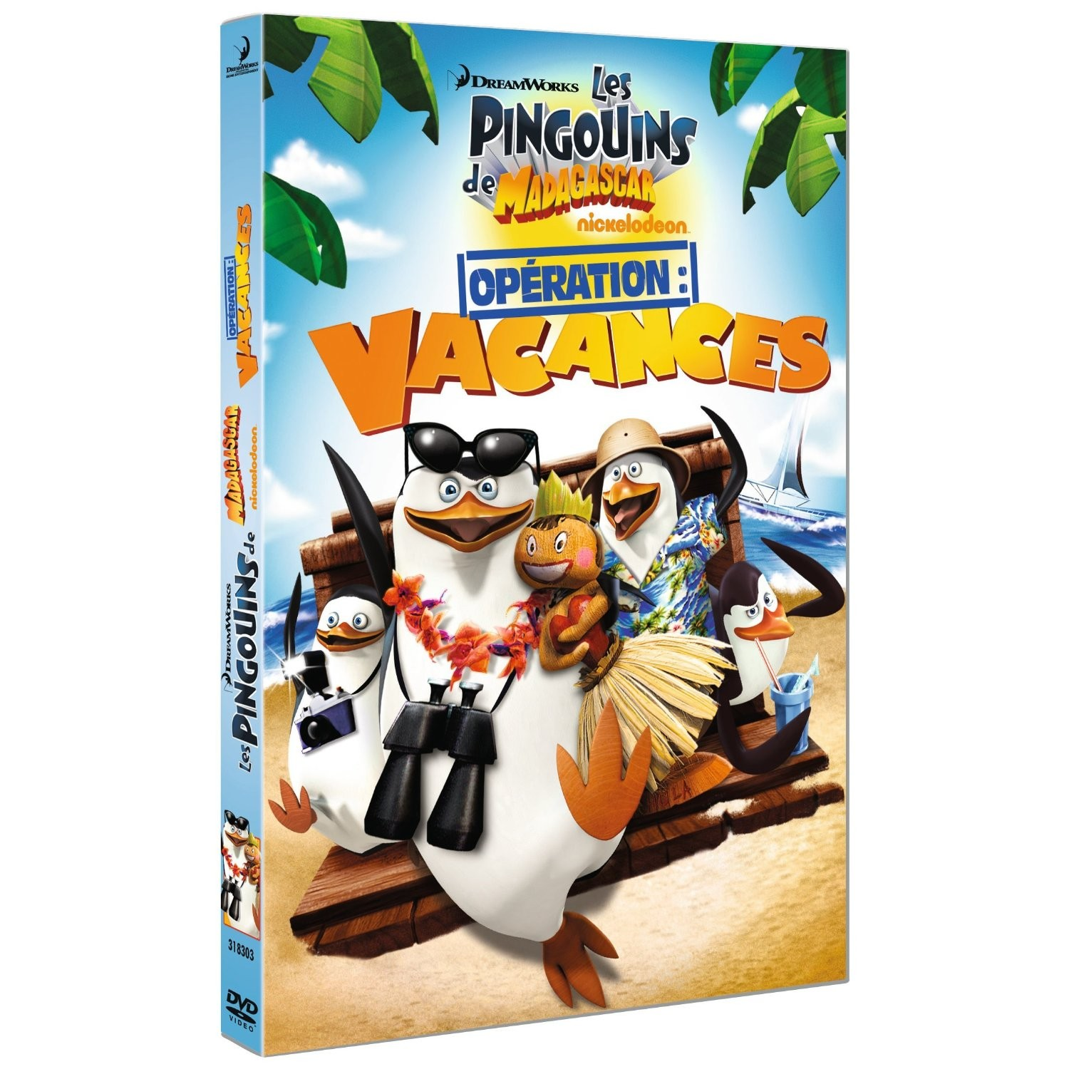Madagascar Vol.5 : Opration Vacances [DVD-R]