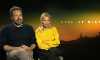 Ben Affleck et Sienna Miller : interview gangsters pour Live By Night
