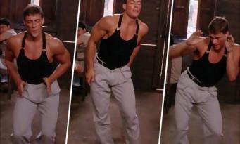 Pour ses 58 ans, Jean-Claude Van Damme refait la danse de KICKBOXER sur la Bamba !