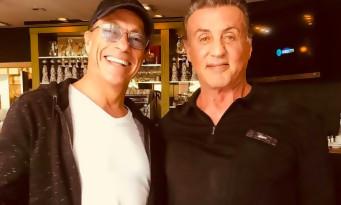 Jean-Claude Van Damme arrêté devant la maison de Sylvester Stallone. Il raconte