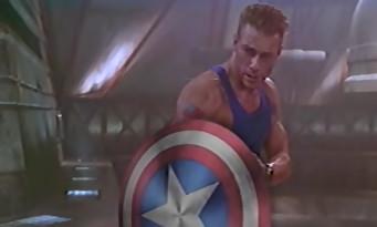 Jean-Claude Van Damme est Captain America pour Avengers 90's
