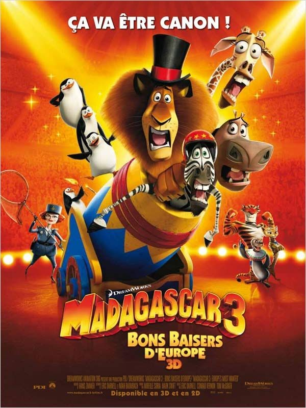 Madagascar 3 Bons Baisers D'Europe | FRENCH MP4 | BDRiP