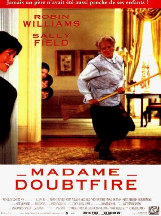 Madame Doubtfire (1994) affiche