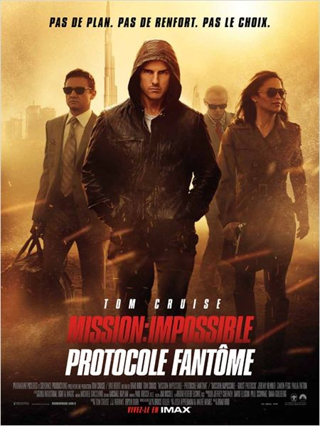 Mission : Impossible - Protocole fantôme [DVDSCR] [FRENCH] [UL] [DF] [RG] [TB]