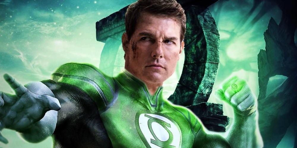 Tom Cruise En Green Lantern 224 La Place De Ryan Reynolds