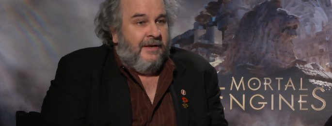 Mortal Engines : on a rencontré Peter Jackson à Los Angeles - interview