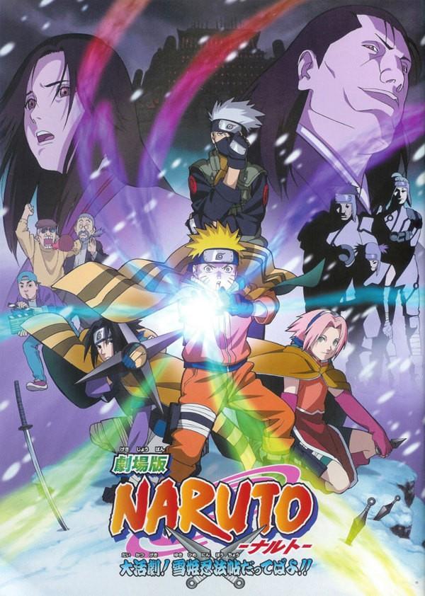 Naruto et la princesse des neiges - La princesse de neige ...