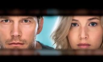 Passengers : Chris Pratt et Jennifer Lawrence perdus dans l'espace (bande-annonce)