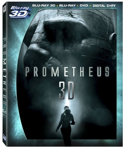Prometheus en Blu Ray