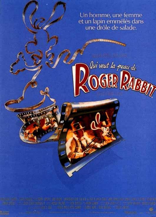 Affiche Roger Rabbit affiche et photos qui veut la peau de roger rabbit ?