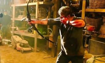 Rambo 5 : Sylvester Stallone en sang ressort son arc et ses flèches