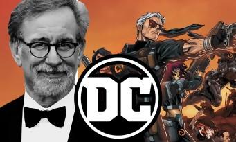Steven Spielberg va signer un film de super-héros pour DC