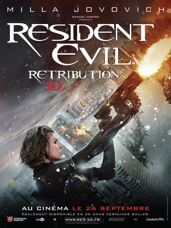 Resident Evil : Retribution (2012) [VOSTFR] [BRRiP] [MULTI]