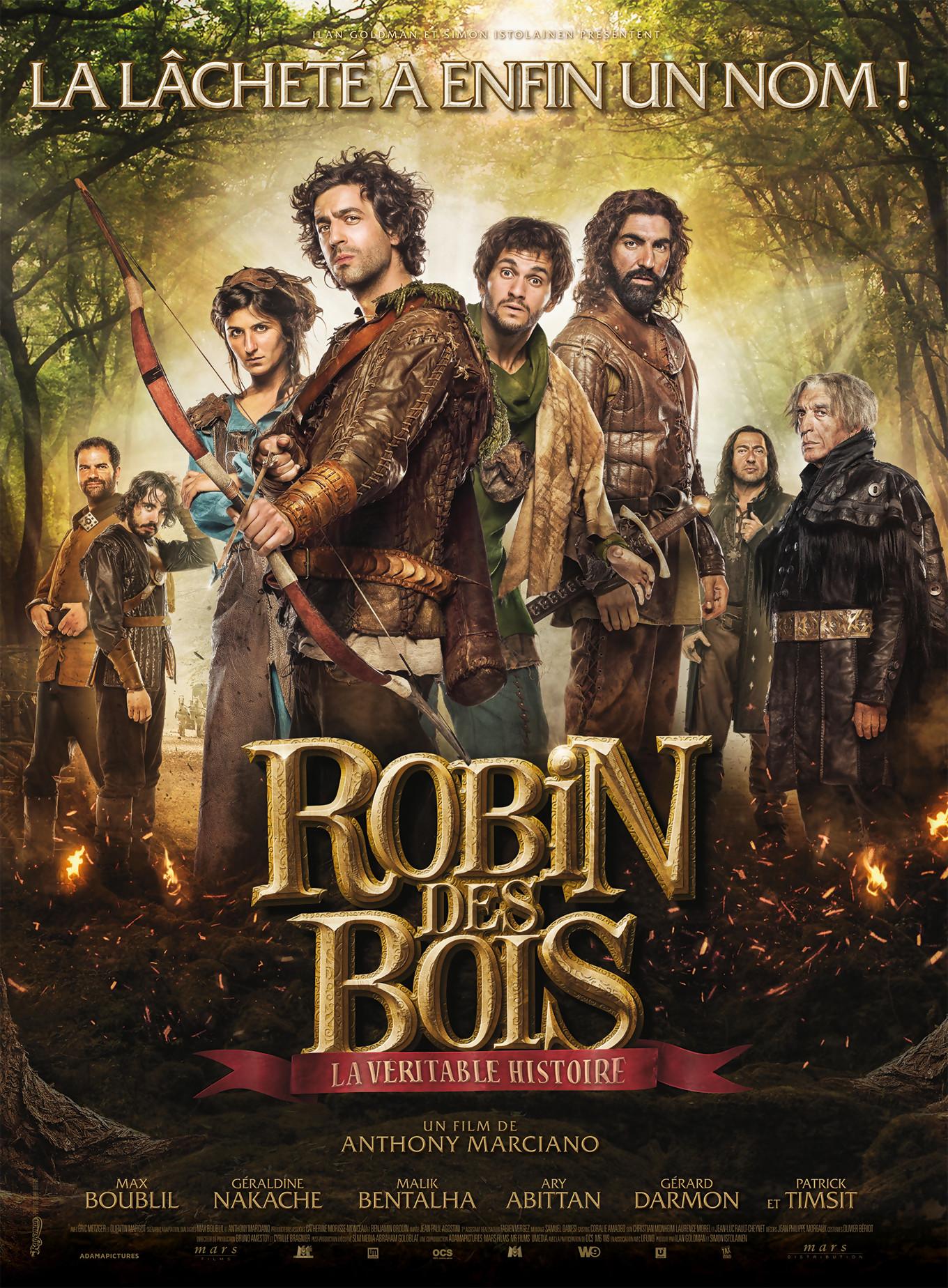 Robin des Bois avec Max Boublil  laffiche du film (2015) ~ Robin Des Bois Le Film