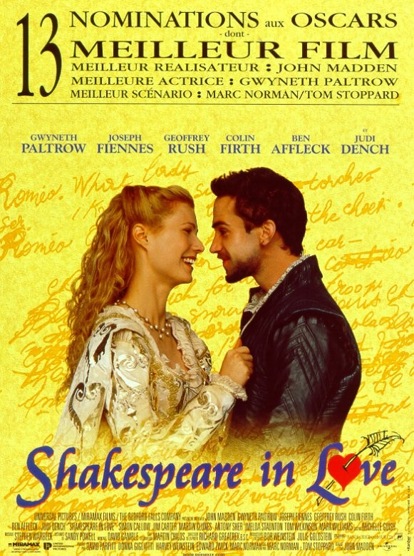 [MULTI] Shakespeare in Love [DVDRiP]