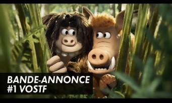 CRO MAN - le petit frère de Wallace & Gromit et Shaun Le Mouton (trailer)