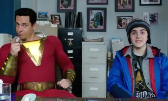 SHAZAM! - le nouveau héros DC joue la carte de la comédie (teaser)