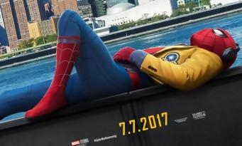 SPIDER-MAN HOMECOMING : nouveau trailer 100% action et blagues !