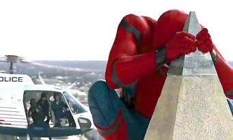 Premier teaser vidéo pour SPIDER-MAN HOMECOMING !