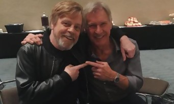 "Star Wars : Mark Hamill imite à la perfection ce ""fainéant"" d'Harrison Ford !"