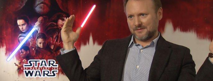 "Star Wars 8 : ""J'étais terrifié à l'idée de parler avec Mark Hamill"" interview Rian Johnson"