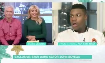 Star Wars : une journaliste choque John Boyega avec un énorme spoiler en direct
