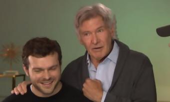 Harrison Ford s'en prend avec humour à Alden Ehrenreich pour Solo A Star Wars Story