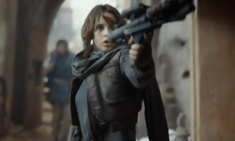ROGUE ONE : Felicity Jones tabasse du Stormtrooper dans un extrait badass