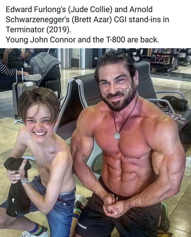 Les premières images de Linda Hamilton dans le nouveau Terminator