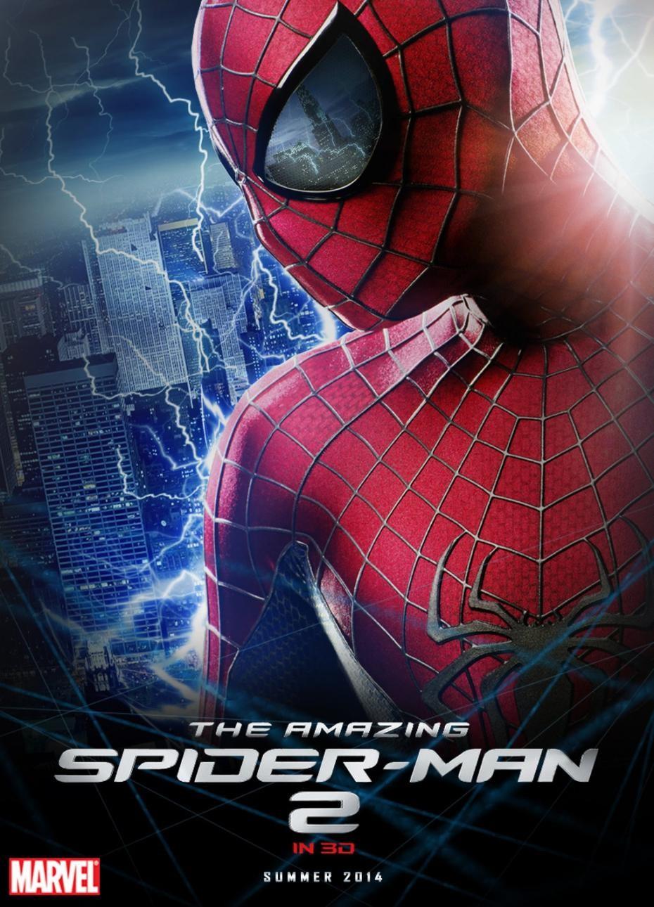 affiche et photos the amazing spider man 2 2014. Black Bedroom Furniture Sets. Home Design Ideas